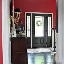 inside front door colors. Inside Front Door Colors