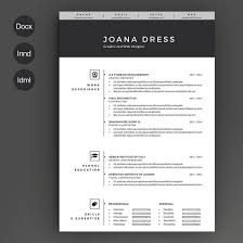The Best Cv Fabulous Design Resume Template Free Career Resume