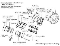 Minimum Rotor Thickness Chart Toyota Tacoma Tech Feature Brake Job On 1995 2004 Toyota Tacoma