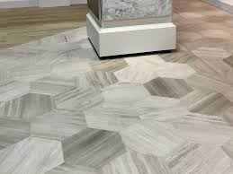 Limestone Kitchen Floor Tiles Large Hex Floor Tile Daltile 18x20x1 2 Chenille White Honed