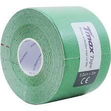 <b>Тейп кинезиологический Tmax Extra</b> Sticky Green (5 см x 5 м), арт ...