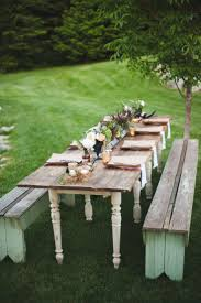 Indoor Picnic Style Dining Table 17 Best Ideas About Outdoor Farm Table On Pinterest Large Dining
