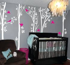 fabric wall decals for nursery kids room wall decal ideas for wall  decorations white trees and . fabric wall ...