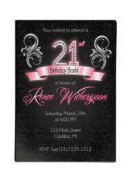 21 birthday invitation 2
