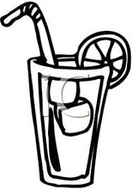 iced tea clipart black and white. Perfect White And Iced Tea Clipart Black White