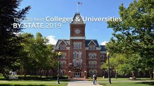 The 100 Best Colleges Universities By State 2019