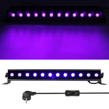 Us 30 39 43 Off Led Uv Violet Strip Light 36w Disco Lamp Wall Washer Spot Lights For Party Christmas Dj Performance Stage Light With Eu Plug In