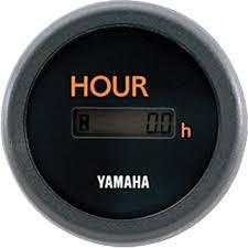 boat rigging digital and analog gauges yamaha outboards 6y5 hour meter