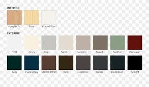 Permoglaze Paint Colour Chart Olsztyn Clipart Jasam Permoglaze Colour Chart 2017 Png