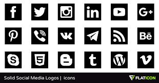 social media logos. social media logos a