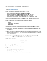 Usa Jobs Example Resume Usajobs Resume Builder Example Examples of Resumes 45