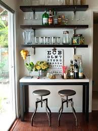 Basement Bar Design Ideas Interesting Mini Bar Ideas R For Living Room Basement Designs Small Apartments