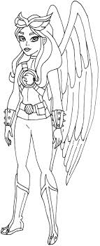 Small Picture Hawkgirl Coloring Pages PrintableColoringPrintable Coloring