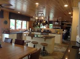Kitchen & Dining room at Lake Elora, MN. DeFINE Design/Penny Higgins  one of my favorite clients and project!… | Lake house kitchen, Home  kitchens, Kitchen pulls