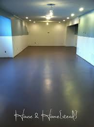 Sweet Best Basement Floor Paint 25 Painted Basement Floors Ideas On