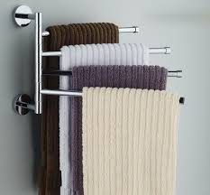 bath towel holder ideas. AmazonSmile - Bekith Wall-Mounted Stainless Steel Swing Bathroom Towel Rack Hanger Holder Organizer (4-Arm) | Home Decor Pinterest Bath Ideas 3