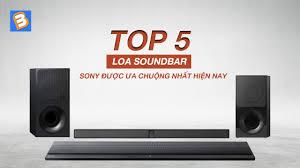 Điểm qua một số mẫu loa soundbar Sony tốt nhất 2019 - tintintonghop