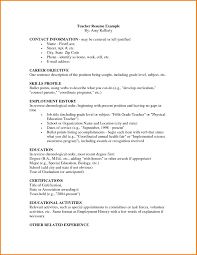 Lovely First Job Resume Example 28 First Resume Samples
