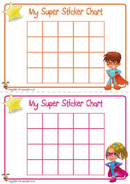 Free Sticker Charts Teachers Pet Displays Superhero Sticker Charts Free