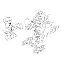 Leuk Voor Kids Kleurplaat Lego Nexo Knights Ridder Axl Radni