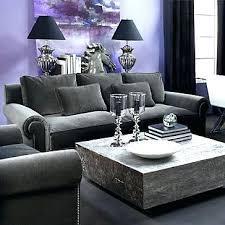 plum and grey livi room purple decorati ideas rooms living modern l