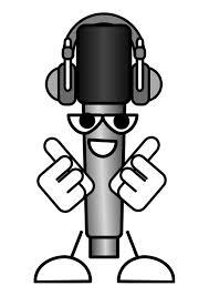 Kleurplaat Microfoon Muziek Beluisteren Afb 27539 Images