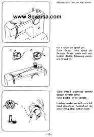 Threading A White Sewing Machine