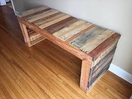 Wood pallet furniture Outdoor Handmade Wooden Pallet Bench Makespace Diy Pallet Bench Pallet Furniture Plans