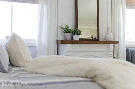 Master Bedroom Bedding Cozy Farmhouse Master Bedroom A Burst Of Beautiful