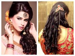 Indian Hair Style festive look hairstyles for sarees indian beauty tips 2027 by wearticles.com