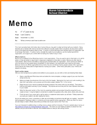Format For A Memo Perfect Vision 6 Example Of Resume Sections
