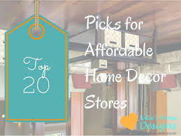 inexpensive home decor stores online affordable websites love