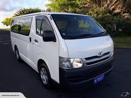 Toyota Hiace Diesel turbo Manual double slide 2010 | Trade Me