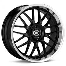 5x110 Bolt Pattern Interesting Enkei LUSSO Black Wheel 48x4848 48mm Offset 48x48 Bolt Pattern 48248