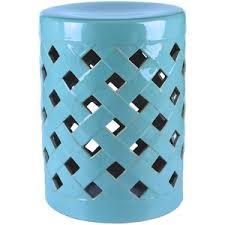 ceramic garden stools. Projects Idea Outdoor Garden Stool Abbyson Living Finley Ceramic Teal Green Polyvore Stools