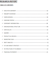 Professional Prac   Book Industry Report Research Template net