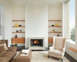 Trendy Design Shelves Next To Fireplace Fresh Floating Beside Houzz