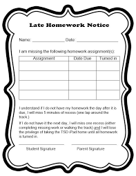 Homework Sheet Template For Teachers Behavior Contracts And Checklists That Work Scholastic
