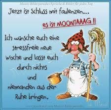 Blingee Bilder Montag Weekday Good Morning Humor Funny