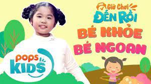 play mario game: POPS Kids [S2] Giờ Chơi Đến Rồi Tập 2 - Bé Khỏe Bé Ngoan -  Bé Hồng Ân - Nhạc Thiếu Nhi Hay Cho Bé