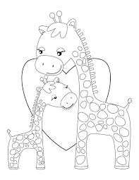 Giraffe Printable Template Miracle Printable Pictures Of Giraffes Baby Giraffe Coloring Pages