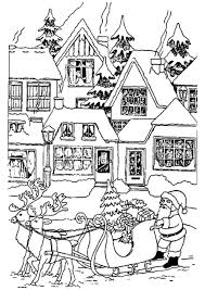Christmas Coloring Pages For Kids To