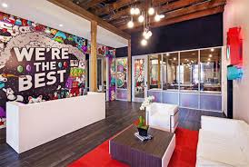 graphic designers office. Chaotic Moon Studios Mural Graphic Designers Office