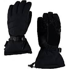 Spyder M Overweb Gore Tex Ski Glove Black Black Fast