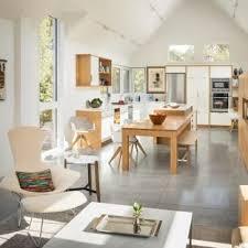 contemporary kitchen furniture. Contemporary Open Concept Kitchen Inspiration - Open  Contemporary U-shaped Concrete Floor Furniture