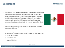 Mexico Sat Chart Of Accounts Mexico Electronic Invoicing And Tax Reporting Requirements