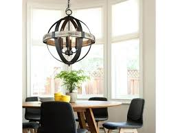 white orb chandelier white rustic orb chandelier