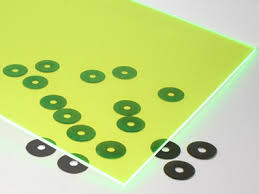 1 16 inch acrylic sheet fluorescent green acrylic sheet