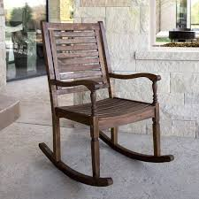 two person rocking chair solid acacia wood patio rocking chair sway two  person rocking chair .