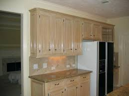 how to refinish oak kitchen cabinets new pickled bleached glazed